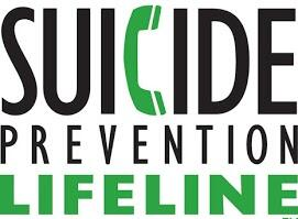 Call the Suicide Prevention Lifeline if you need help