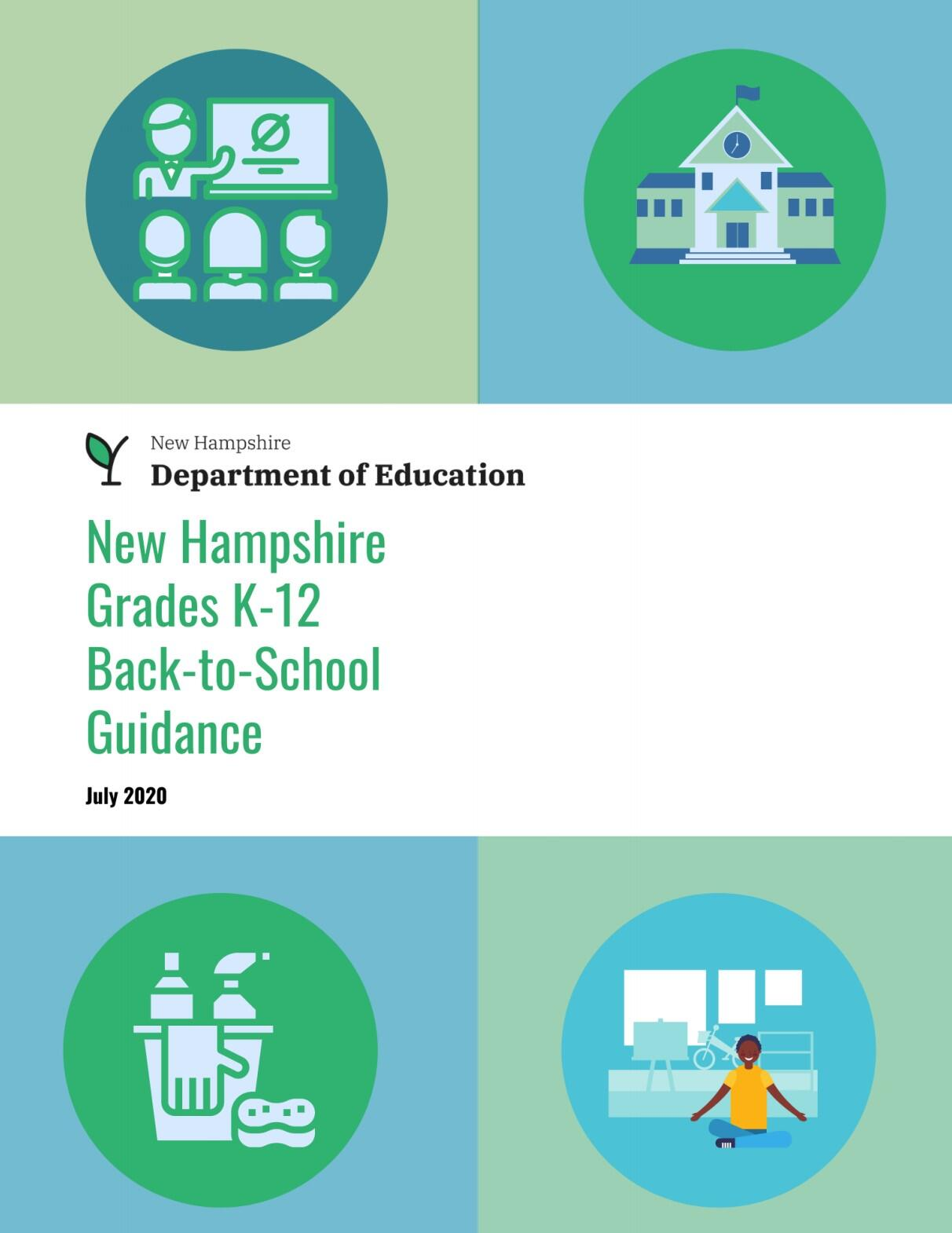 NH DOE Back-to-School Guidance booklet
