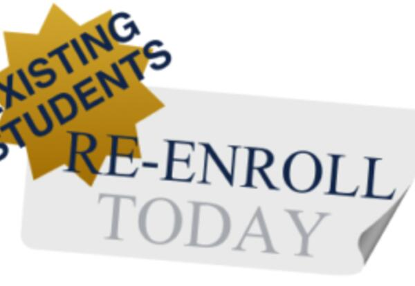 Re-Enrollment is now available!