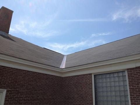 Cafeteria Shingled Roof Back 02