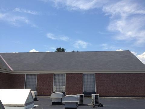 Cafeteria Shingled Roof Back 05