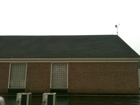 Cafeteria Shingled Roof Back 06