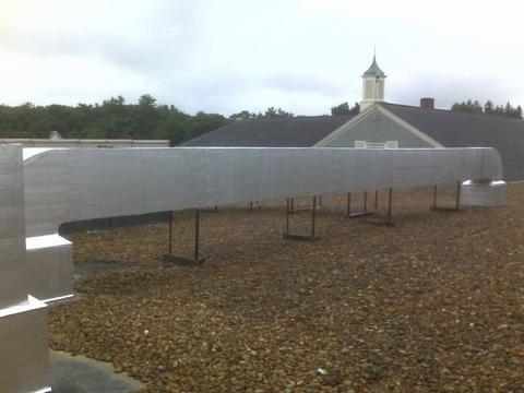 Gym HVAC Roof Top Unit 03