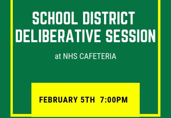 School District Deliberative Session
