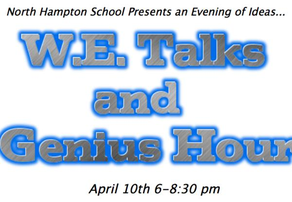 WE Talks & Genius Hour