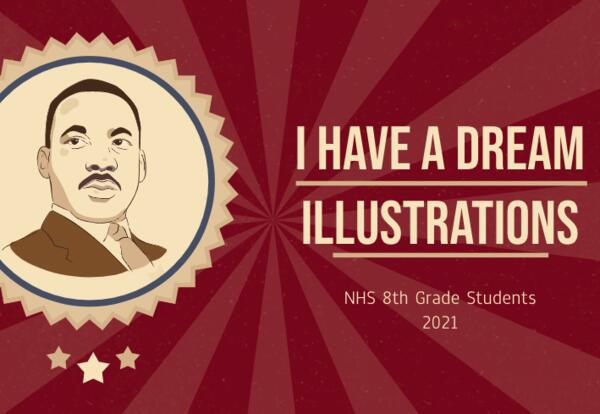 8th Grade MLK Jr. Illustrations