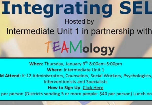 Integrating SEL Hosted by IU1 and TEAMology