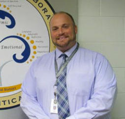 Mr. Angel, principal at Beach Middle School