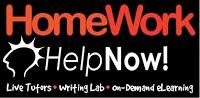 Homework Help Now Live tutors, writing lab, on-demand elearning