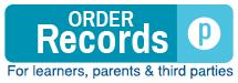 Order records for learners, parents & third parties