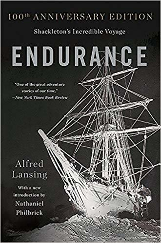 book cover image of Endurance with ship stuck in ice
