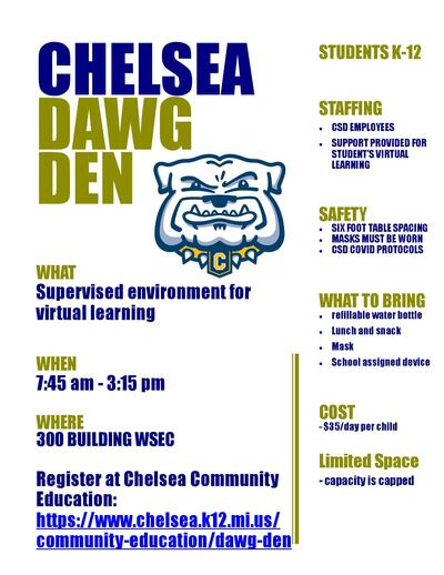 Dawg Den Flyer