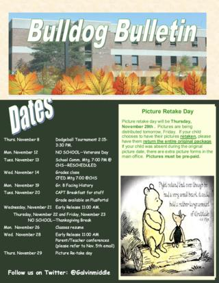 Bulldog Bulletin November