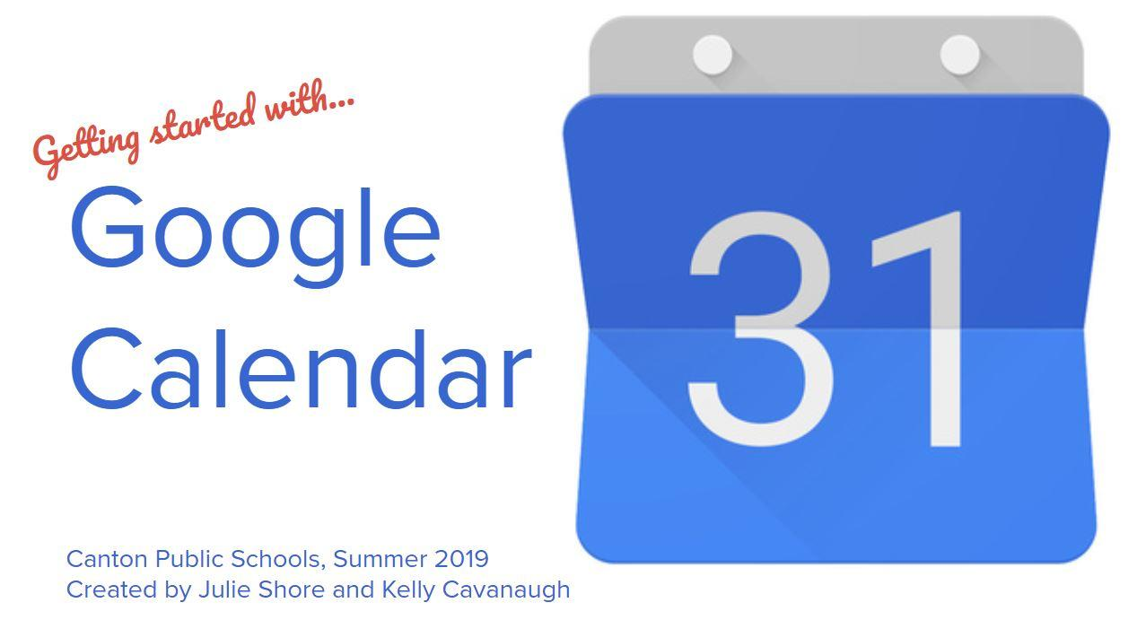 Getting Started with Google Calendar image
