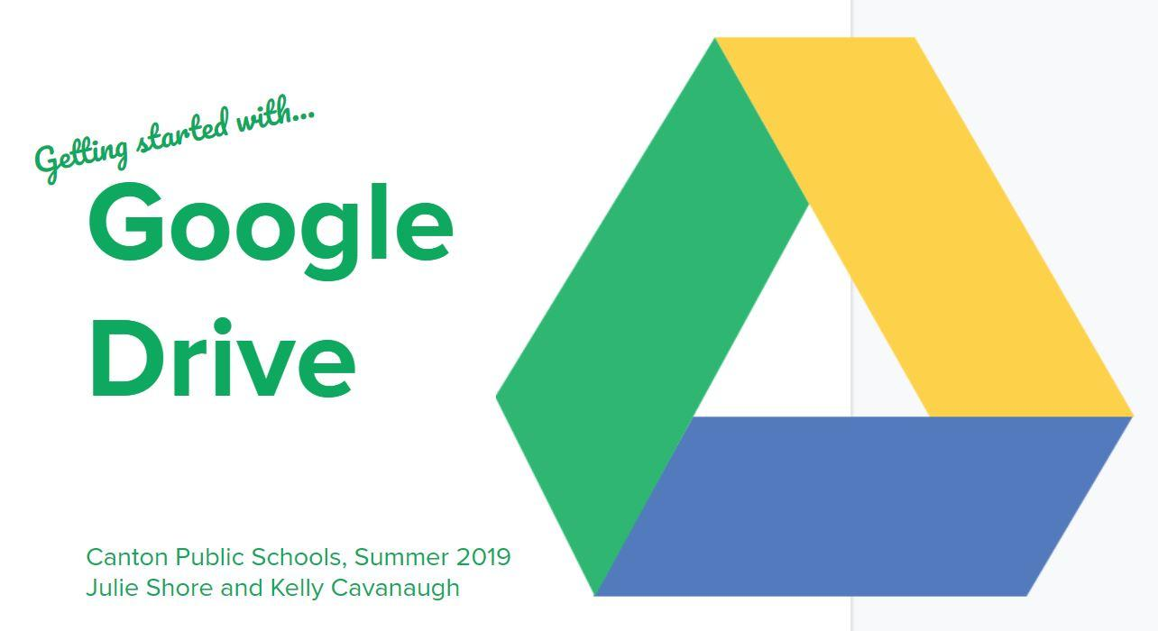 Getting Started with Google Drive image