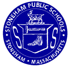 Circular logo for Stoneham Public Schools located in Massachusetts