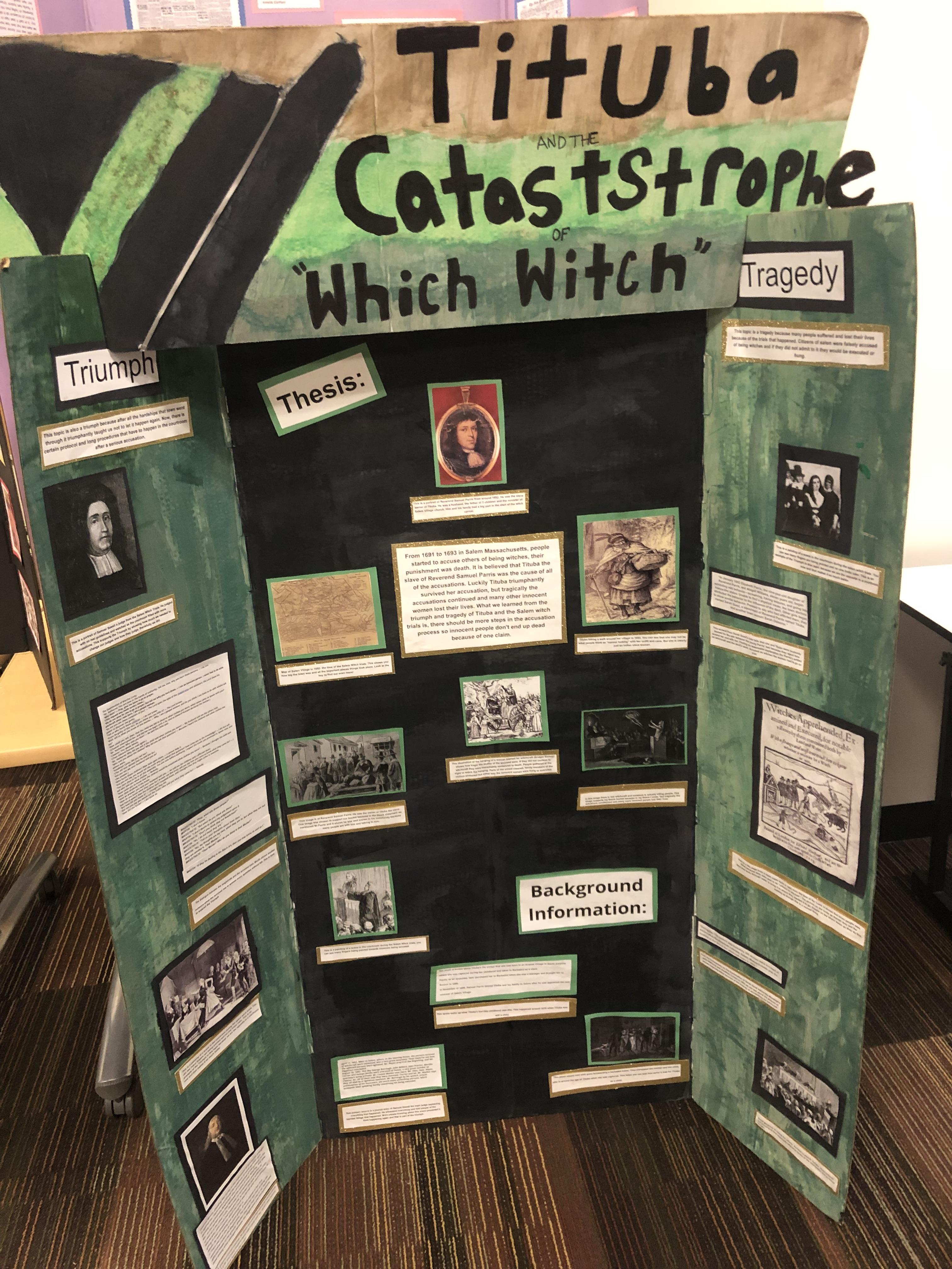 7th Grade History Project