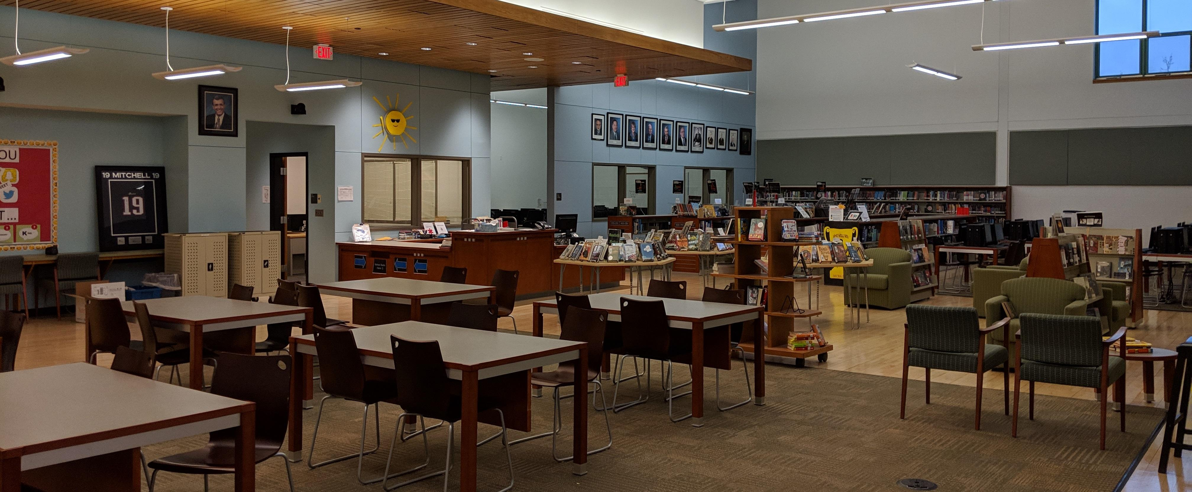 Image of the CMS Library.