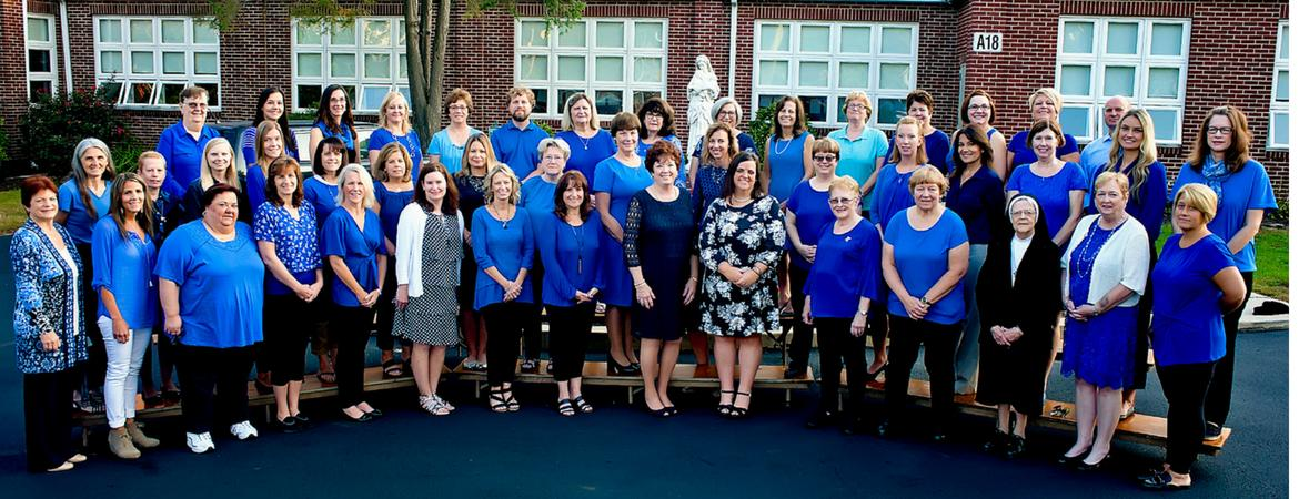 Mater Dei Catholic School Faculty 2018