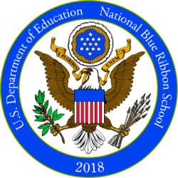 2018 National Blue Ribbon Logo