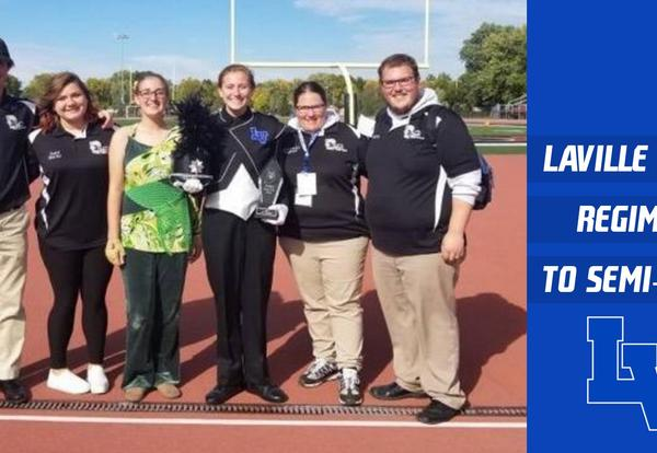 LaVille Royal Regiment Marching Band Makes History