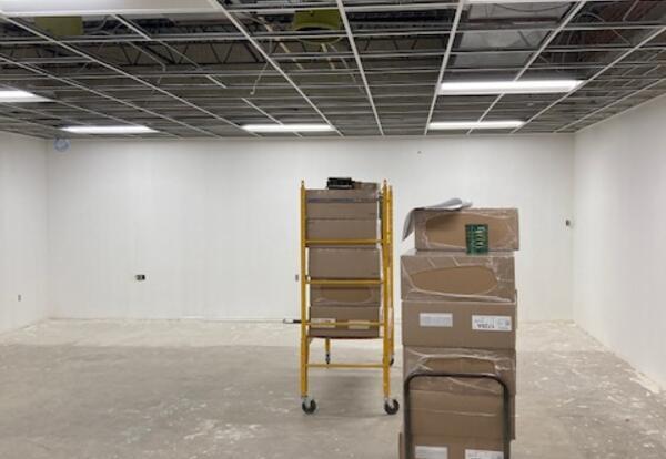 LaVille Jr.-Sr. High School 'B' Hall Renovation Update