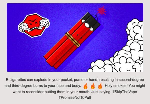 E-Cigarettes Public Service Announcement