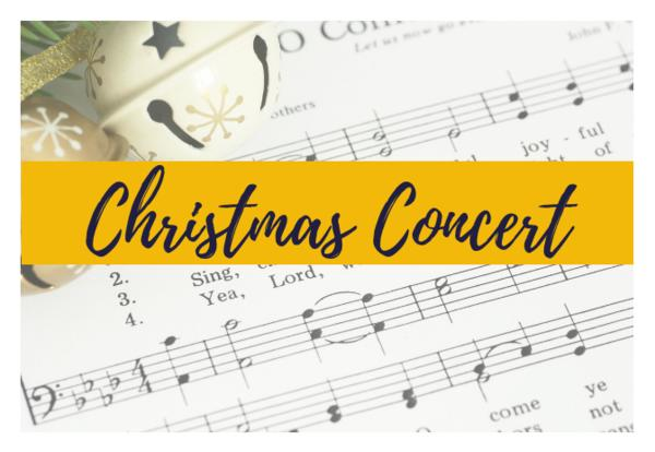Christimas Concert: December 7th, 7 PM.