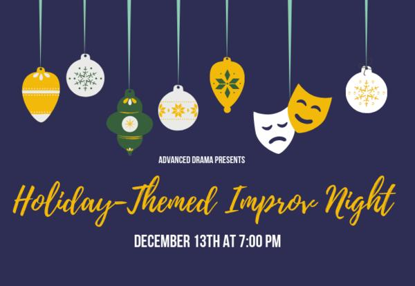 Advanced Drama Improv Night