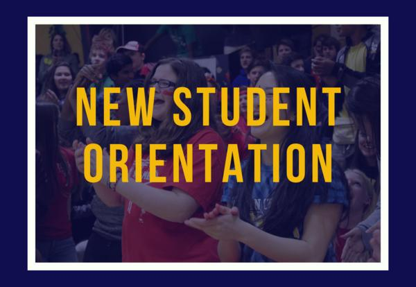 New Student Orientation - August 9th, 8:30 AM - 11:30 AM