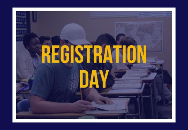 Student Registration  and Picture Day - August 5th, 8 AM to 1 PM