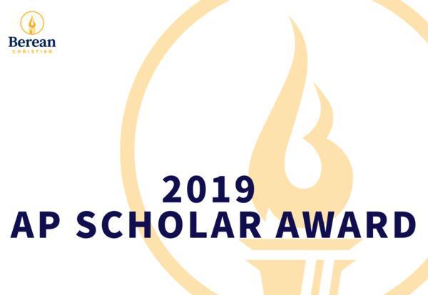 2019 AP Scholars Award