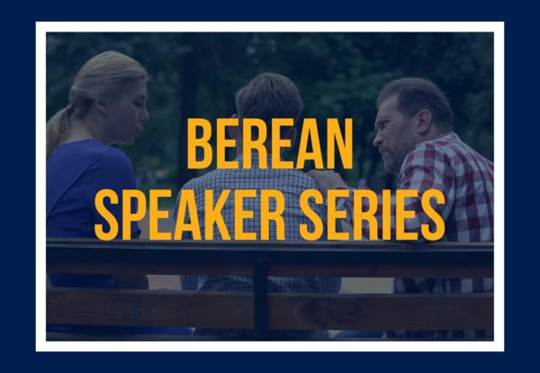Berean Speaker Series: Debt-Free College