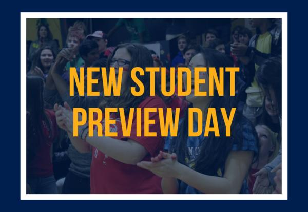 New Student Preview Day