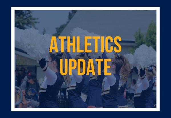Athletics Update - COVID-19