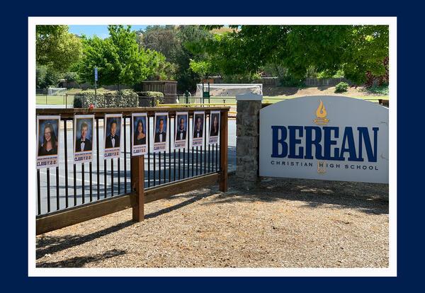 Berean Christian School sign