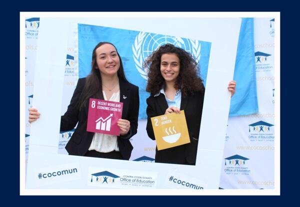 Model U.N. Sign
