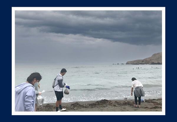 Interact Club Organizes Summer Beach Cleanup Day
