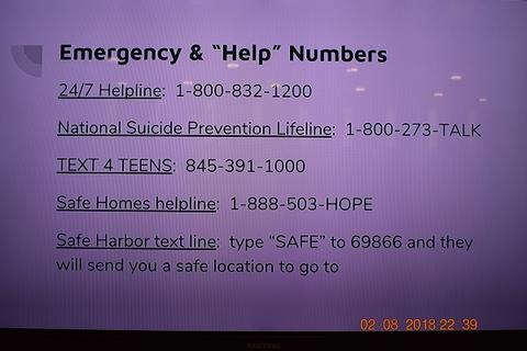List of emergency and help numbers