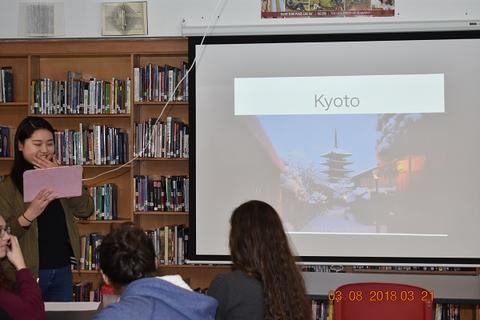 Slide discussing Kyoto