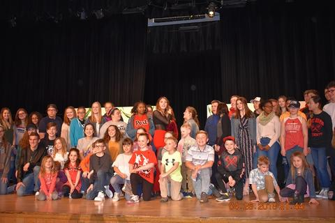 Larger group photo of Kendyle Page's visit
