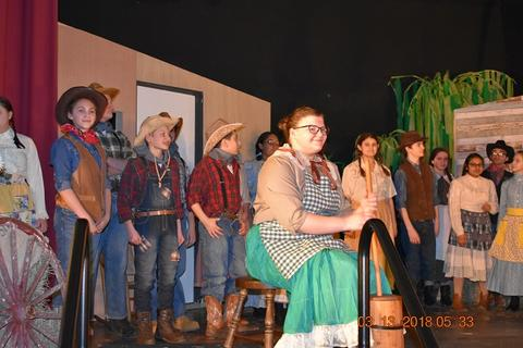 Oklahoma the Musical at Port Jervis Middle School image for DSC 0159