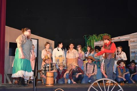 Oklahoma the Musical at Port Jervis Middle School image for DSC 0165