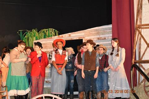 Oklahoma the Musical at Port Jervis Middle School image for DSC 0171