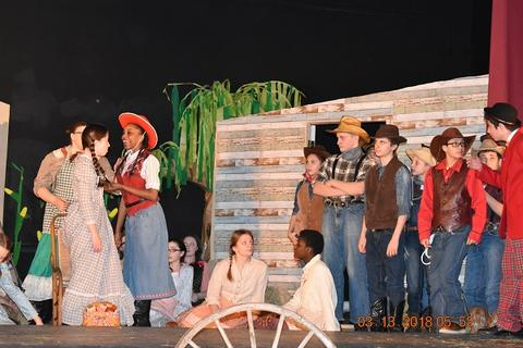 Oklahoma the Musical at Port Jervis Middle School image for DSC 0173