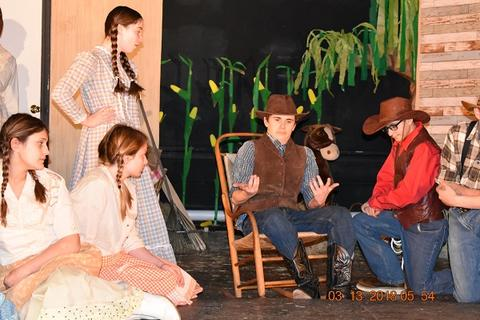 Oklahoma the Musical at Port Jervis Middle School image for DSC 0174