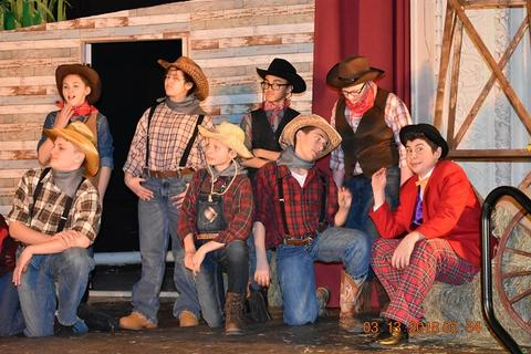 Oklahoma the Musical at Port Jervis Middle School image for DSC 0175