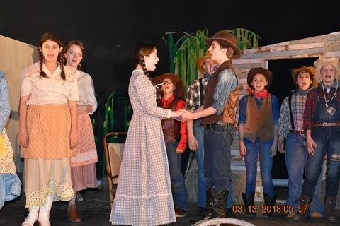 Oklahoma the Musical at Port Jervis Middle School image for DSC 0178