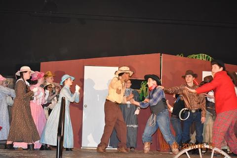 Oklahoma the Musical at Port Jervis Middle School image for DSC 0191