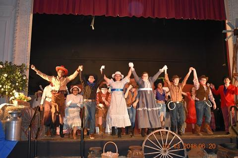 Oklahoma the Musical at Port Jervis Middle School image for DSC 0198